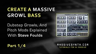 Massive Dubstep Growl Bass Using Picth Mods - Part 14