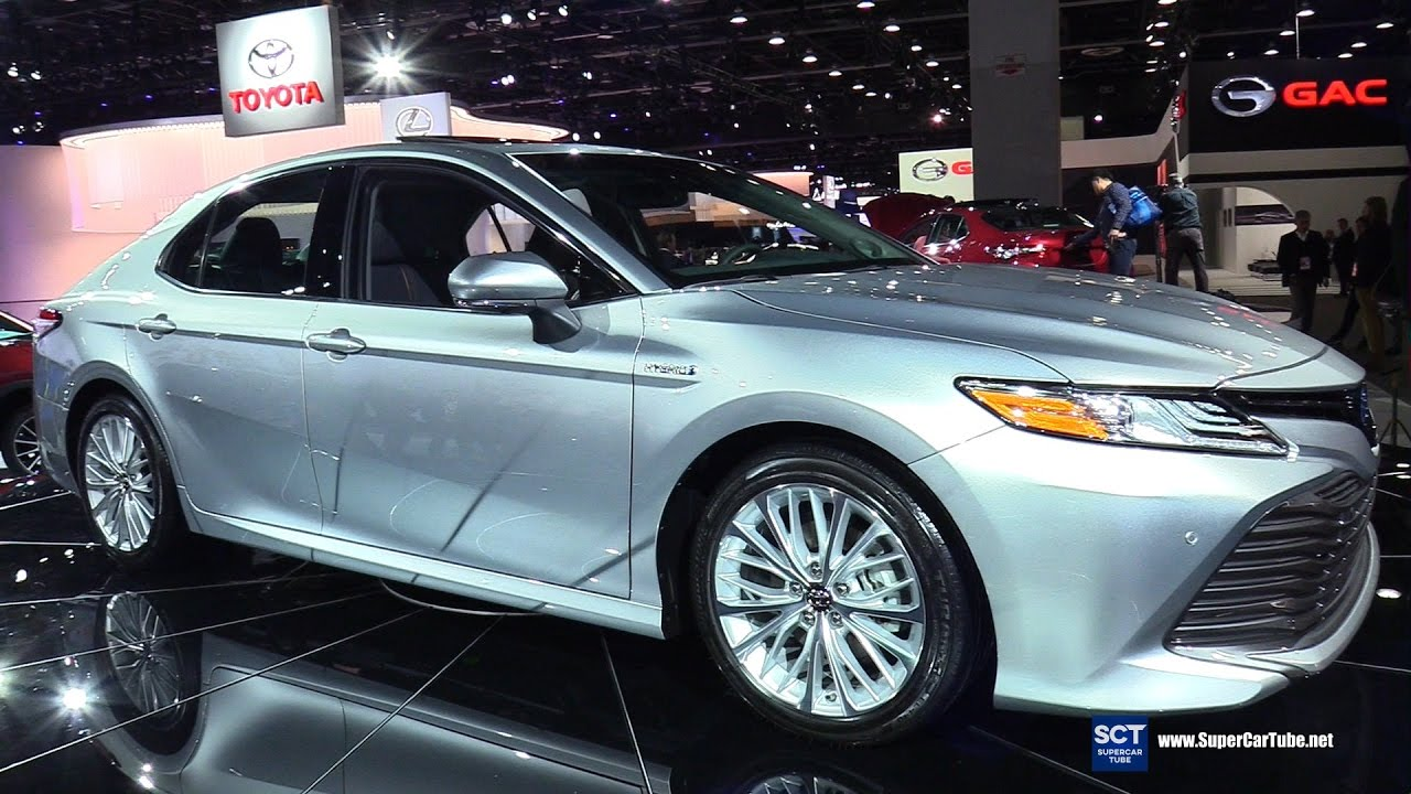 all new camry hybrid 2018 agya trd manual toyota xle exterior and interior walkaround debut at 2017 detroit auto show youtube