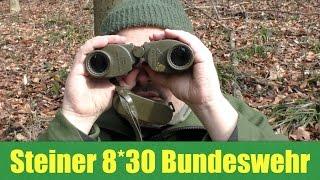 Bundeswehr Fernglas Steiner 8*30 Fero D12