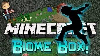 HOME AT LAST! Minecraft: Biome Box Parkour! w/Mitch & Jerome!