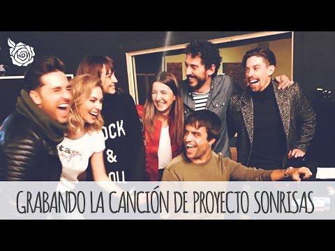 GRABANDO LA CANCIÓN DE PROYECTO SONRISAS | ALEXANDRA PEREIRA