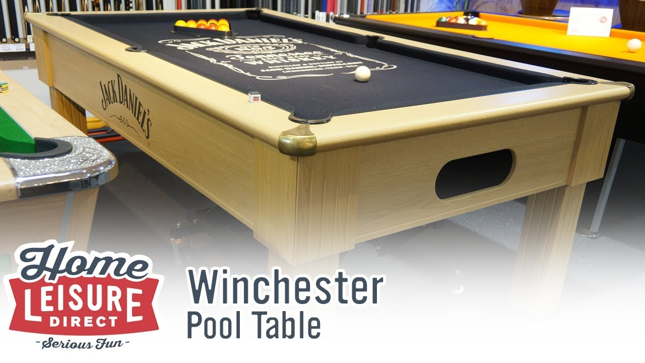Jack Daniels Winchester English Pool Table YouTube - Winchester pool table
