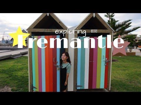 Chilling in Fremantle, Perth (Australian Vlog Nr2)