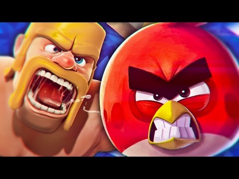 Clash of Clans VS. Angry Birds [Batalha de Gigantes]
