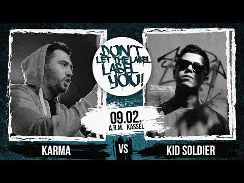 Kid Soldier vs Karma // DLTLLY RapBattle (Kassel) // 2019