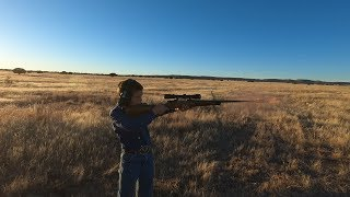 Josh Andregg age 10 Shooting 300 Win Mag with  T REC Muzzle Brake