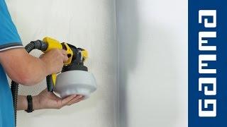 Gestucte muur spuiten | GAMMA