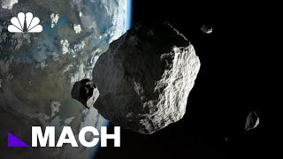 Earth Is About To Have A Close Encounter With A Massive Asteroid | Mach | NBC News