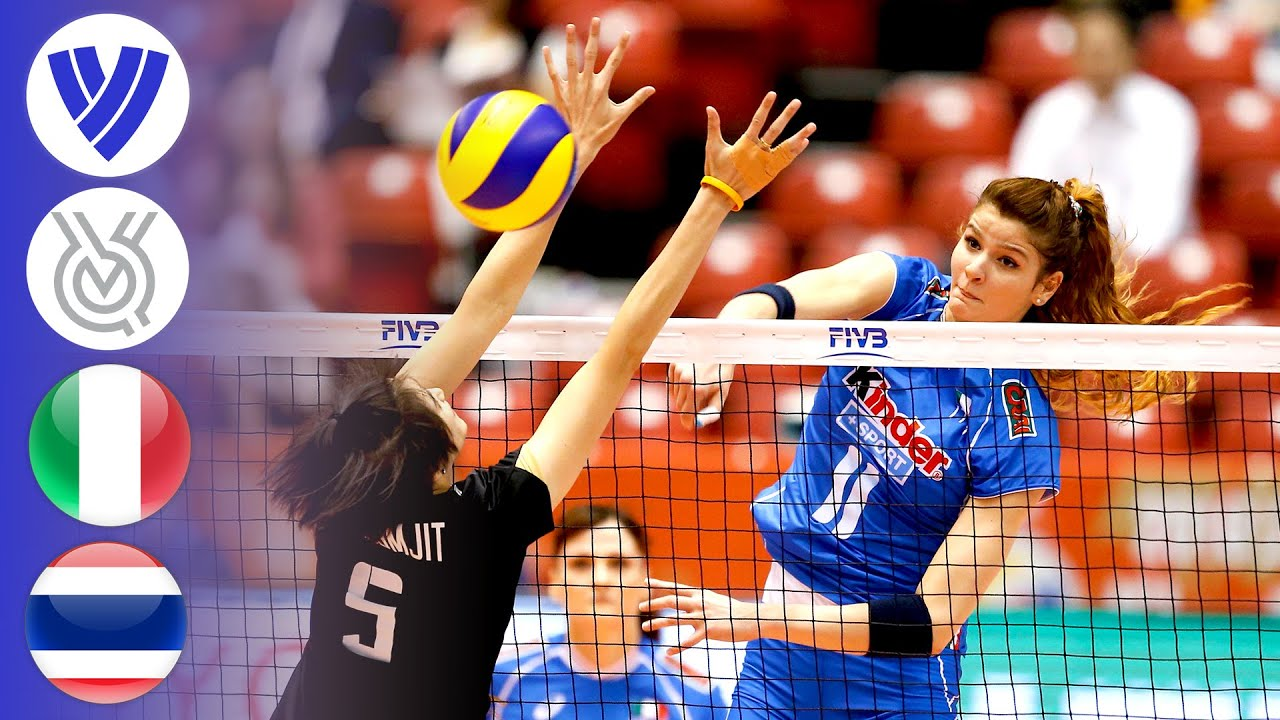 Italy vs. Thailand - FULL | Women's Volleyball World Olympic Qualifier 2016 | HD