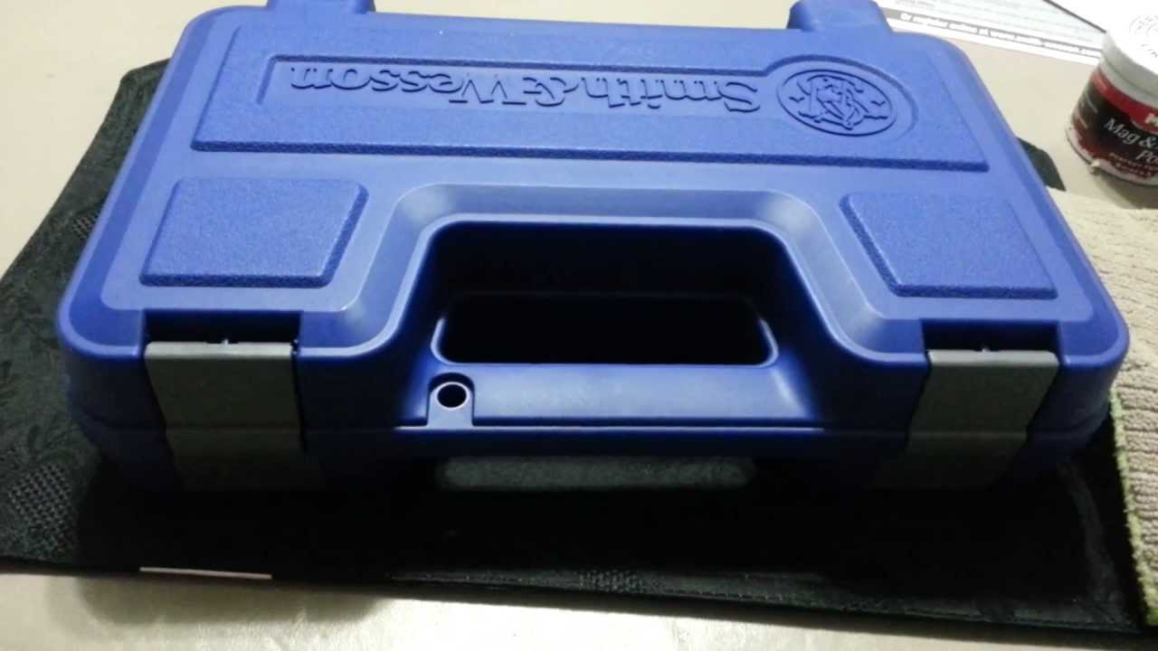 Smith And Wesson M&p 9mm (unboxing)