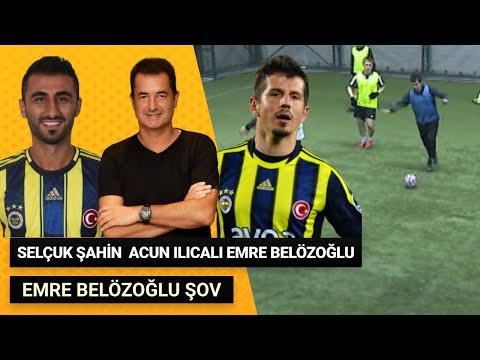 Emre Belözoğlu , Acun Ilıcalı , Selçuk Şahin Halı Saha Maçı Özeti