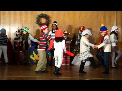 Milpitas Montessori School Christmas Performance 12-18-2014