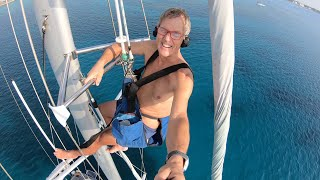 Sailing Grand Cayman - BOAT PROJECTS during COVID-19 LOCKDOWN - HR54 Cloudy Bay Mar-May'20. S20 Ep18