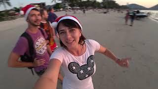 Ночной Пхукет Бангла роуд и пляж Патонг Встречаем новый год в Таиланде