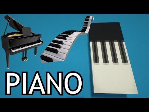 How To Make A Piano Banner In Minecraft Youtube