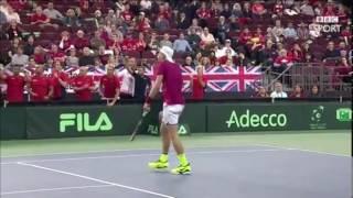 Denis Shapovalov Disqualification after Umpire Headshot (BBC Version)