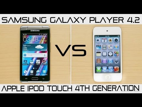 Samsung Galaxy Player 4.2 vs iPod Touch 4th Generation - Comparison