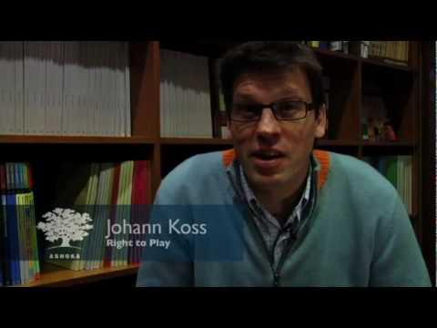 Ashoka Canada Fellow Johann Koss