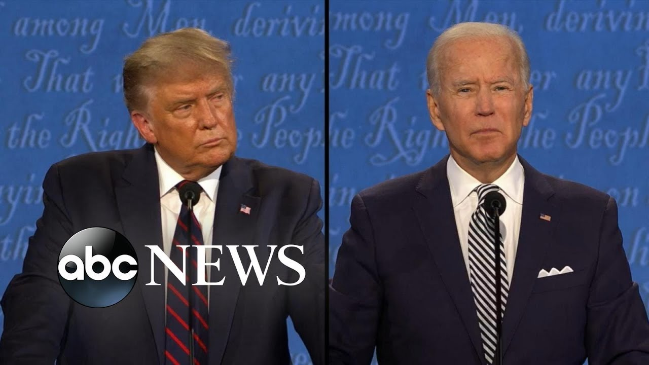 Video thumbnail for: Trump and Biden face off on protests and Black Lives Matter