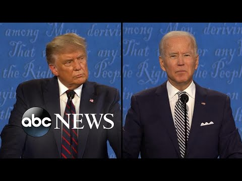 Trump and Biden face off on …