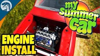 BIG PROGRESS, ENGINE IS A GO   My Summer Car Gameplay