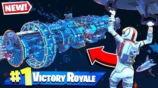 SECRET SPACE STATION FOUND à Fortnite Battle Royale!