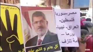 """رصد   تظاهرات مطالبة برحيل العسكر بـ""""كرداسة وناهيا"""" في الجيزة"""
