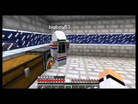 Minecraft Moon Survival Episode 2! EPIC BEACON FTW