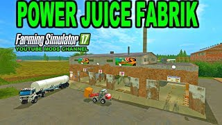 Farming Simulator 2017 Mods Power Juice Fabrik