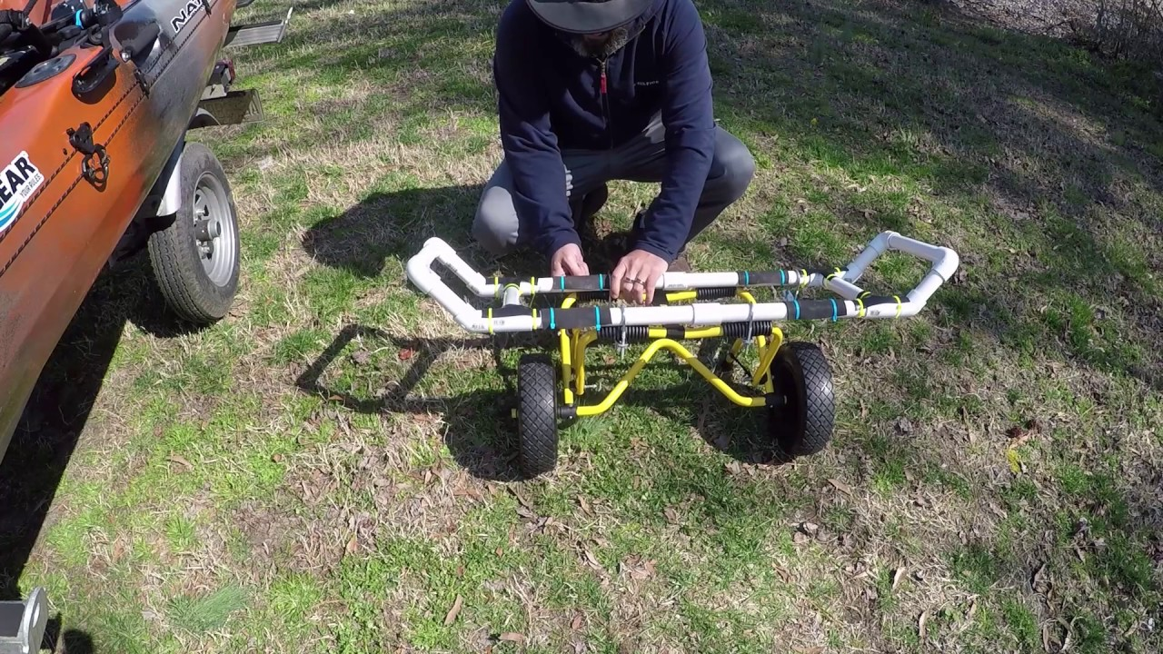 Native Watercraft Propel 13 Kayak Cart Video (modded ...