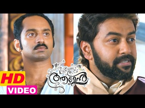 amen-movie-scenes-|-fahadh-realise-indrajith-is-sandras-brother-|-indrajith-support-the-church-band