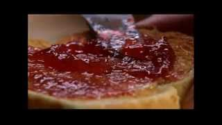 Making Rhubarb Strawberry Jam
