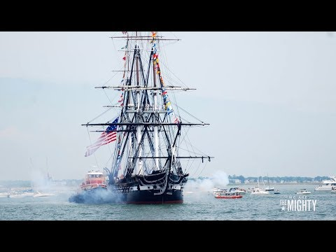 USS Constitution launched - 10/21/1797