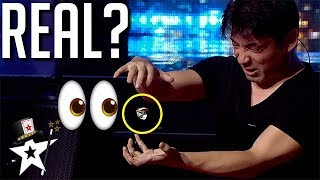 Magician From Japan Does REAL MAGIC!? | Magicians Got Talent Video