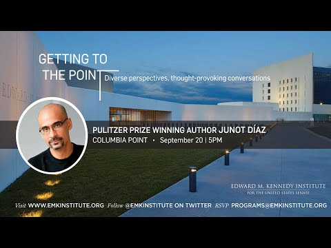 Getting to the Point with Author Junot Díaz