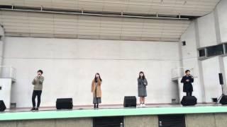 2015.11.29 Voicesストリートライブ Brooklyn304所属のけしごむというバ...