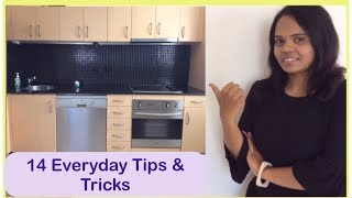 How to keep the Kitchen always clean | 14 Everyday tips & tricks