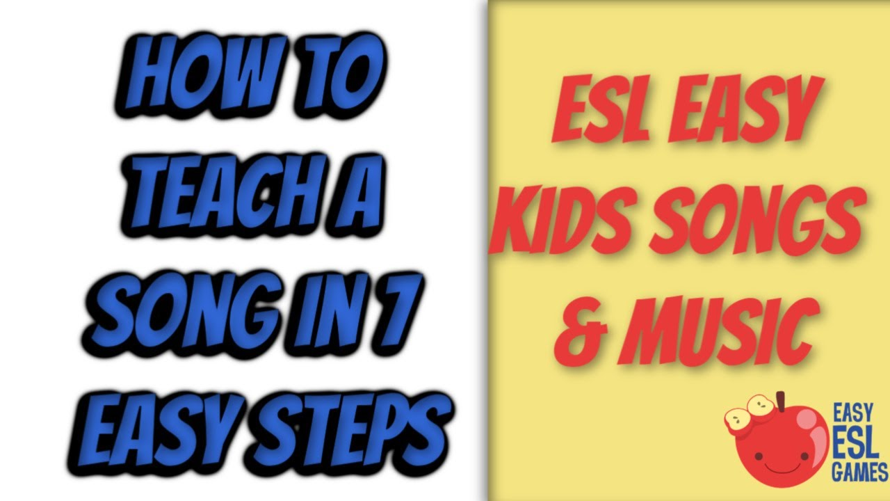Songs for teaching esl teens opinion you