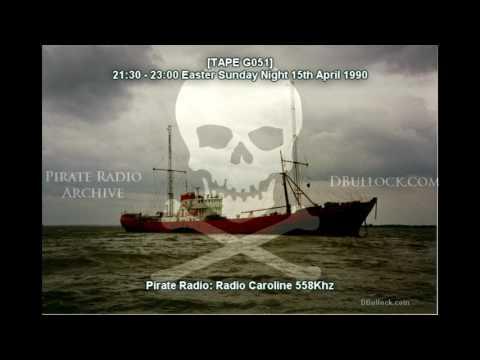 [G051] Radio Caroline 558 ~ 15/04/1990 ~ Offshore Pirate Radio