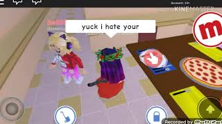 MEAN DAUGHTER! SAD STORY ROBLOX MEEP CITY😣😢