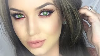 Enhance Hazel | Green eyes ♡ Makeup tutorial
