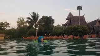[랑리여행VLOG]태국 푸켓여행 산티야리조트 메인풀_말…