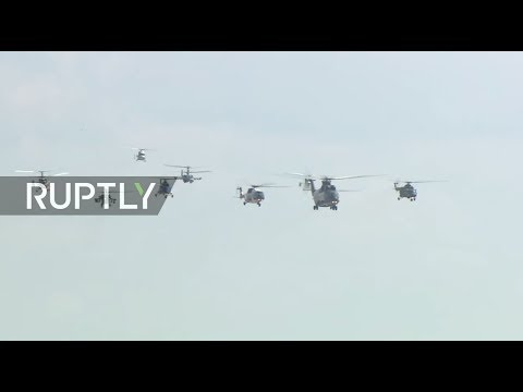 LIVE: MAKS Air Show takes off in Russia