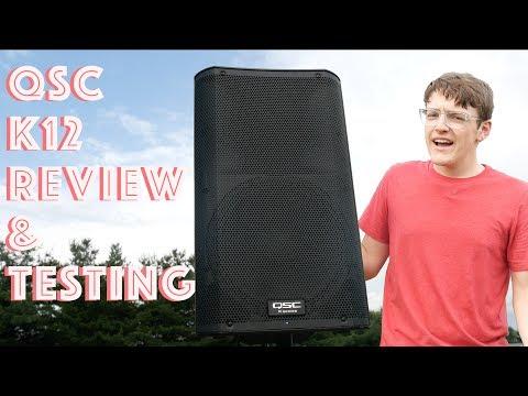 1000w QSC K12 Speaker Review + Audio Testing
