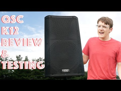 1000w QSC K12 Speaker Review + Audio Testing