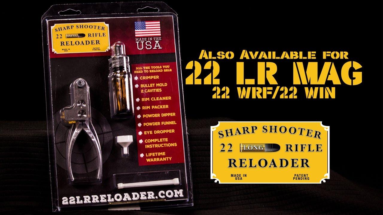 Sharp Shooter  22 Rimfire reloading kits ( 22 LR/ 22 Mag