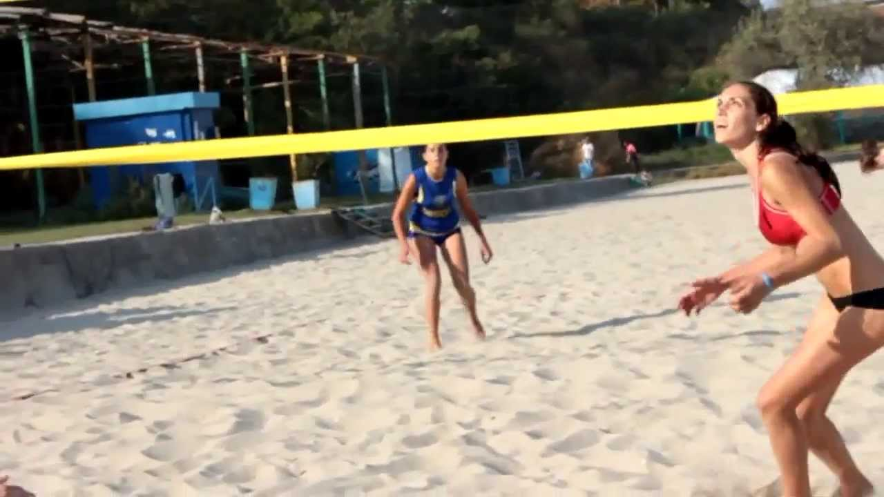 Сексуалшьный пляжный волейбол