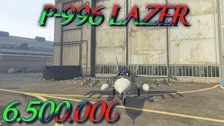 P-996 LAZER - NUEVO ¿VALE LA PENA? -  GTAV Online 1.41 - 6.500.000