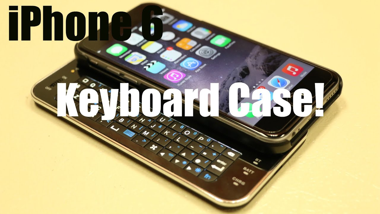 The First iPhone 6 / 6S / 7  Backlit KEYBOARD Case from Brando! – HD In-depth Review!
