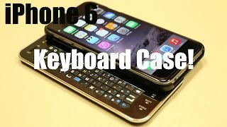 The First iPhone 6 / 6S / 7  Backlit KEYBOARD Case from Brando! - HD In-depth Review!